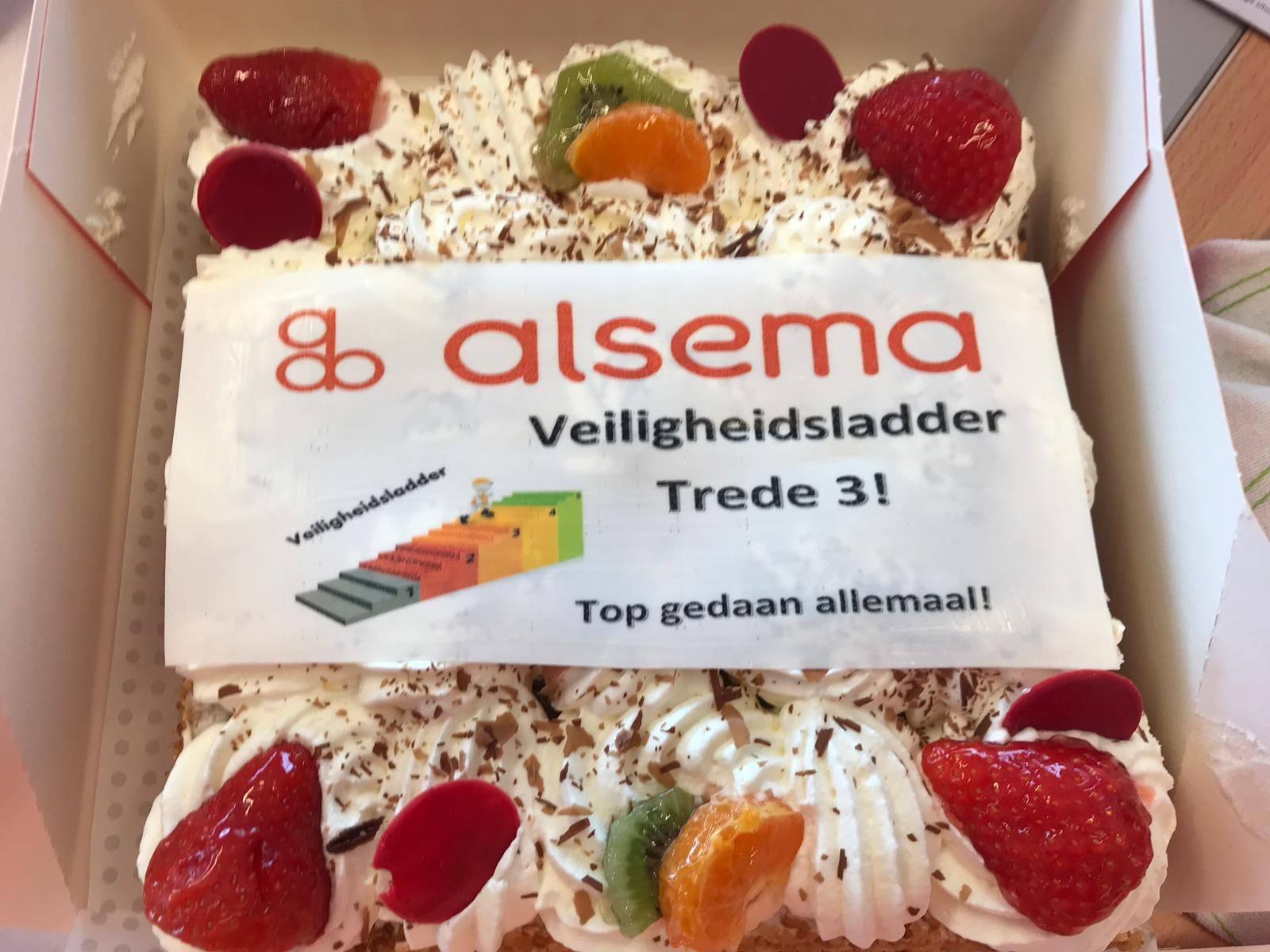 Veiligheidsladder certificaat trede 3 Alsema B.V.