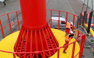 35 kV subsea kabelverbinding Scheveningen