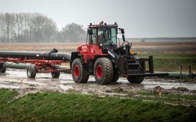 Koelwaterafvoerleiding Eemshaven