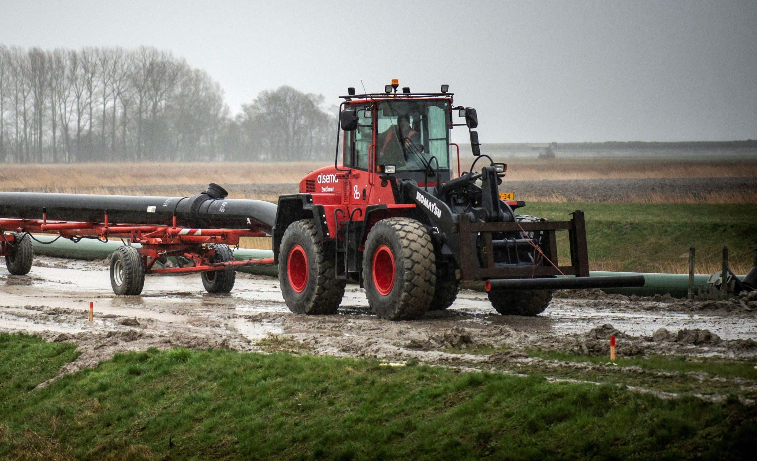 Project Alsema B.V. Koelwaterafvoerleiding Eemshaven