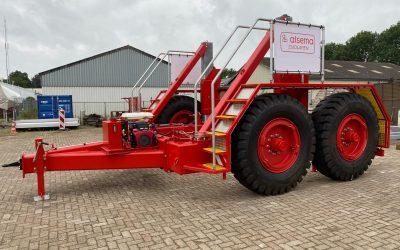 Onze nieuwe 60 tons haspelwagen!